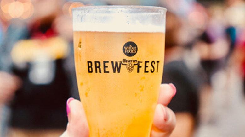 1 GA Entry to Dallas Observer BrewFest