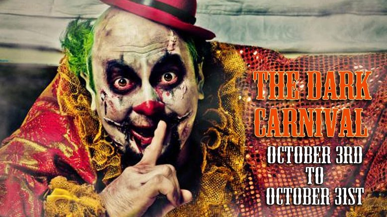 Dark Carnival and Haunted Trailers Admission