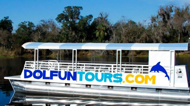 A Two-Hour Guided Dolphin Manatee EcoTours for TWO People