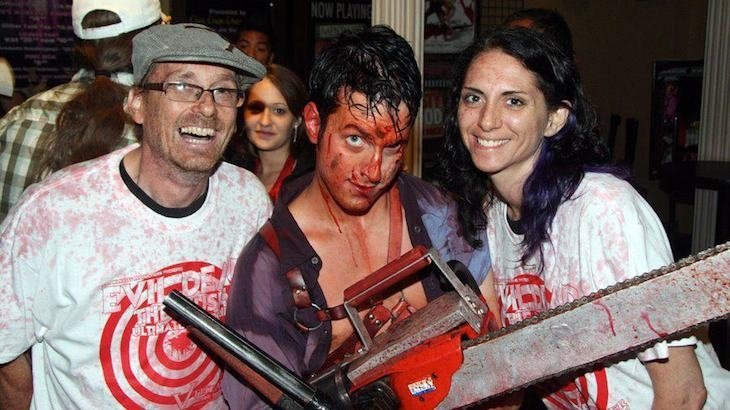 Admission to Evil Dead - The Musical 4D