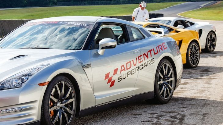 Drive three laps in a Nissan GTR