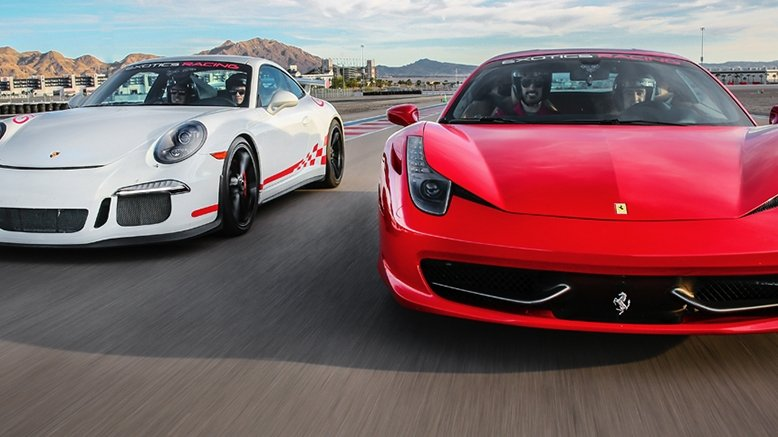 Exotics racing las vegas discount coupon