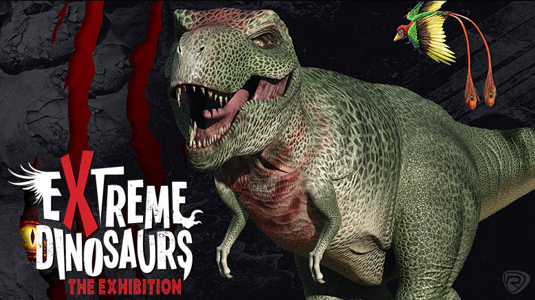 1 Child Pass to Extreme Dinosaurs