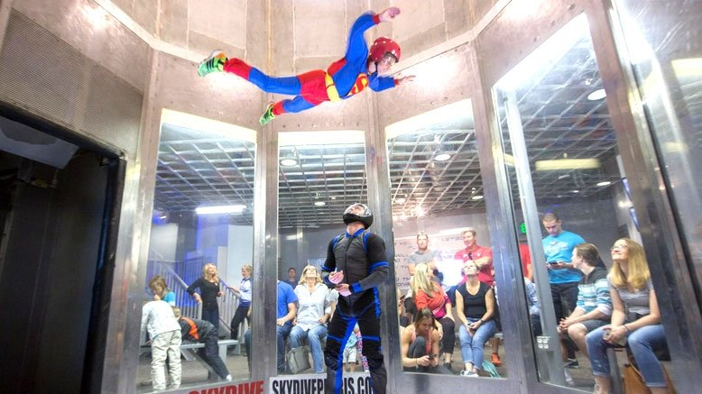 Two Indoor Skydiving Jumps for One