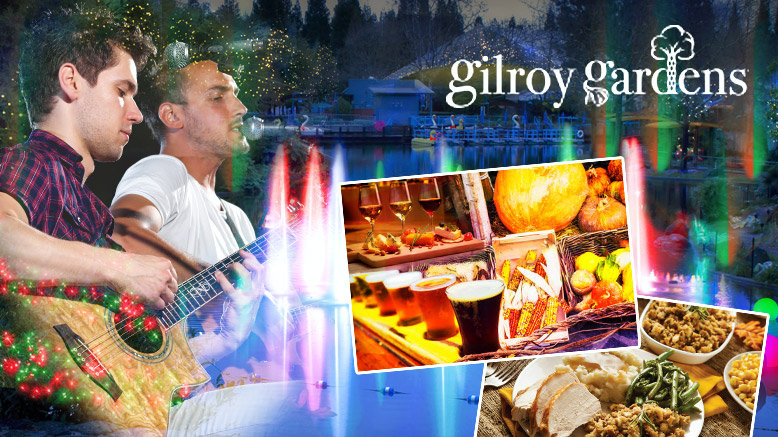 Gilroy Gardens At Night CA 50% Discount Tickets | Rush49