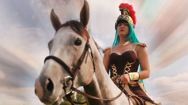 Entry to The Gladiator Girl Race