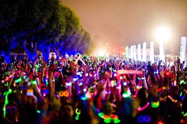 Entry Into The Glow Burst 5K Fun Run in Tampa
