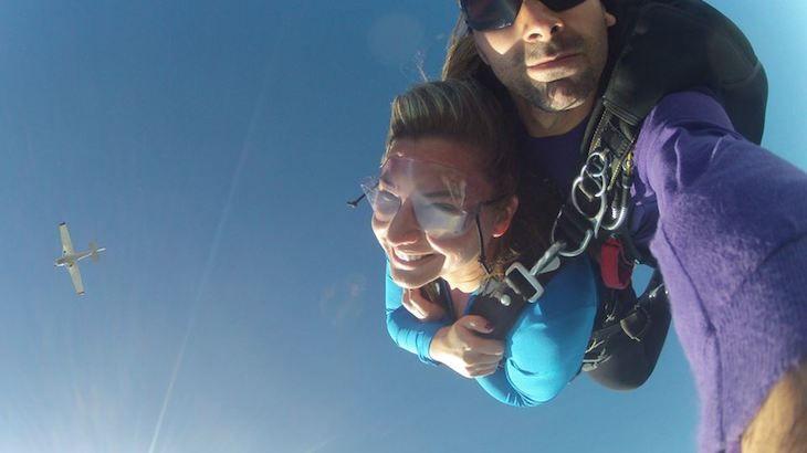 1 Tandem Skydiving Jump