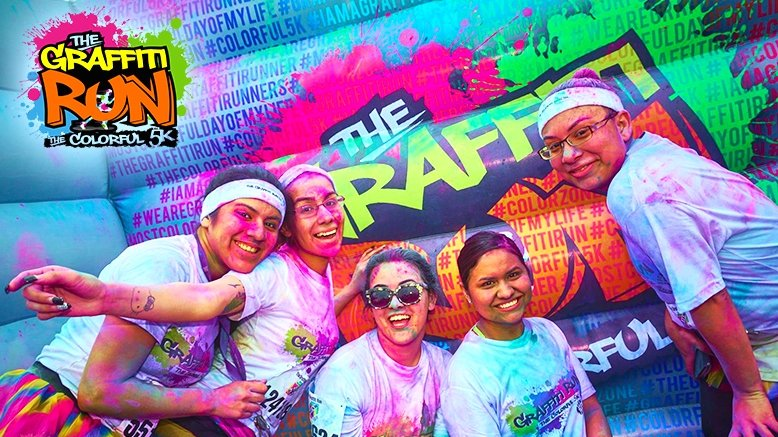 1 Entry to The Graffiti Run