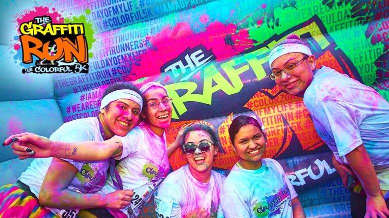 1 Entry to The Graffiti Run