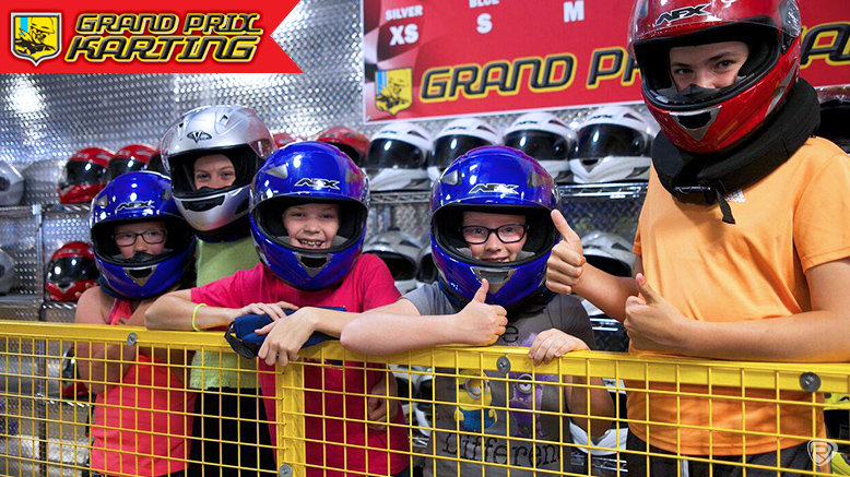 Credit Toward Any Grand Prix Karting Columbus Attractions