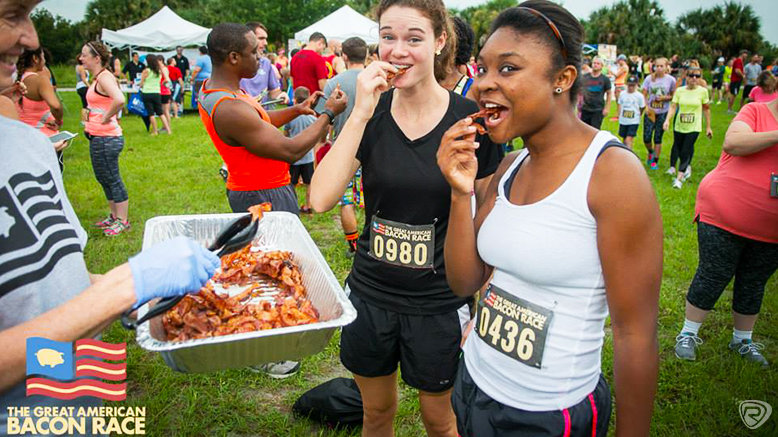 Admission to The Great American Bacon Race: Miami, March 24