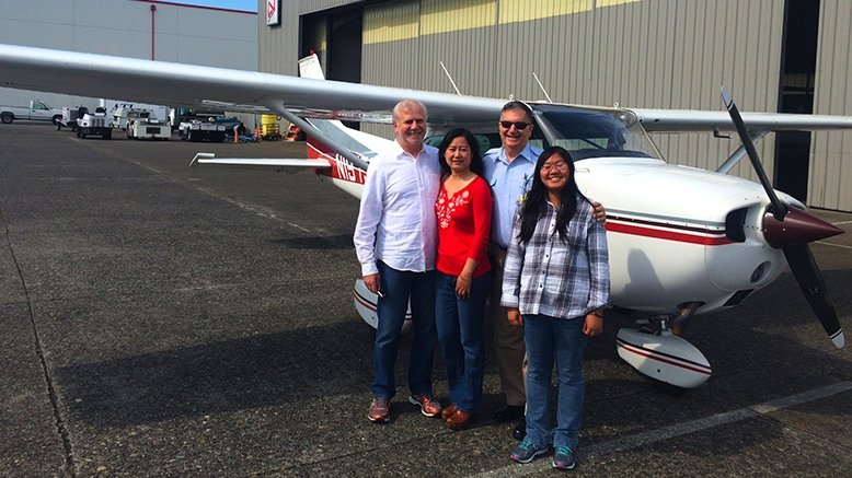 20-Minute Scenic Landplane Flight for up to 3