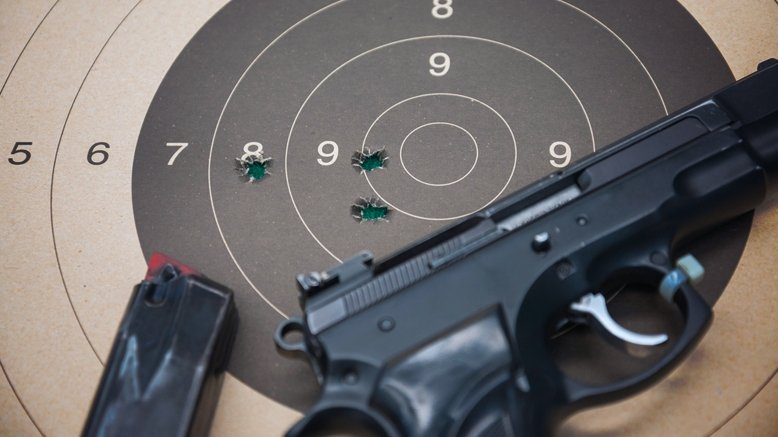 Shooting Range Package for 2:  Valid Monday through Friday