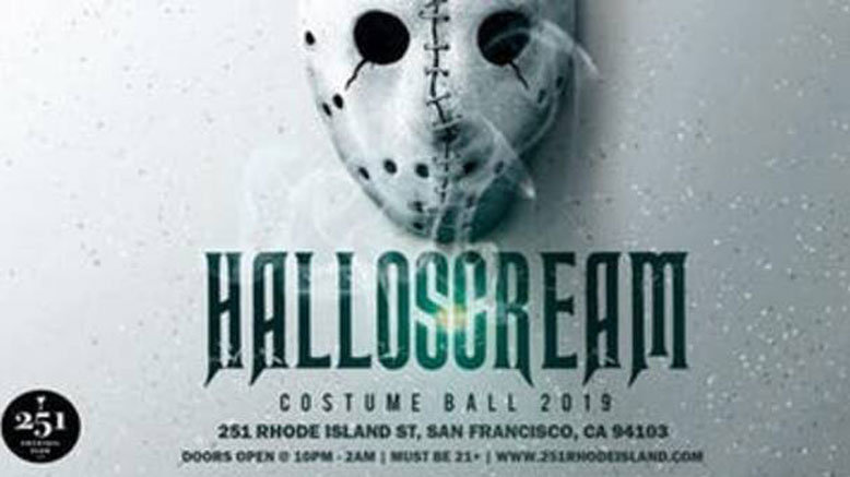 GA for 1 to Halloscream 2019