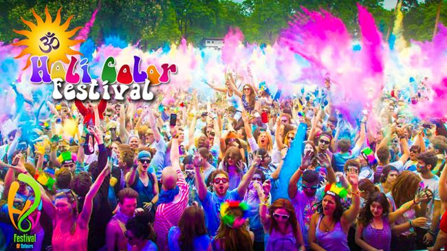 One Entry to The Holi Color Festival