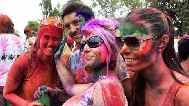 One Entry to the Holi Color Run 5K