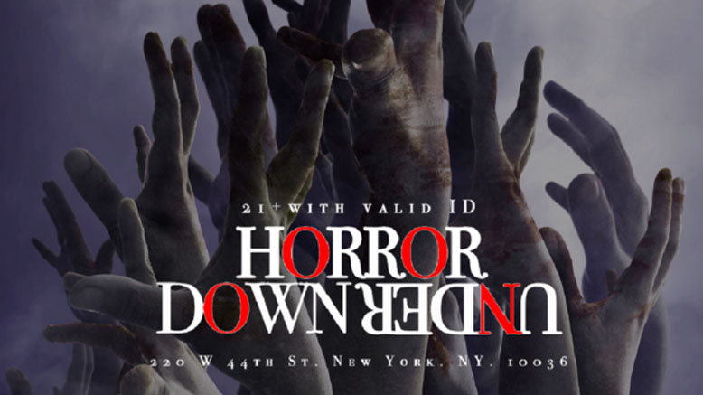 GA for 1 to Horror Down Under