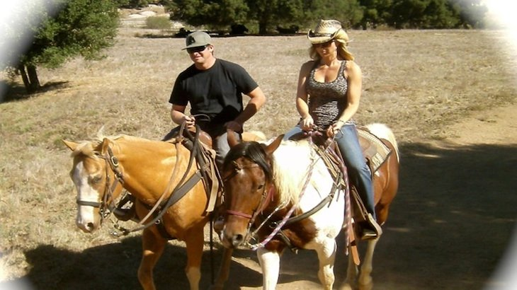A 90-Minute Horseback Trail Ride for ONE with Wine-Tasting