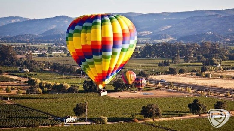Weekday Sunrise Hot Air Balloon Ride for 1