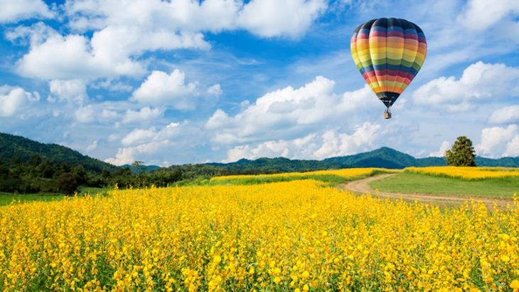 Hot Air Balloon ride over the Sierra Nevada Foothills!