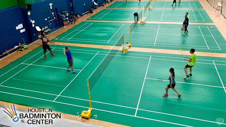 Badminton Outing for Two: Admission for 2 and 2 Racquet Rentals