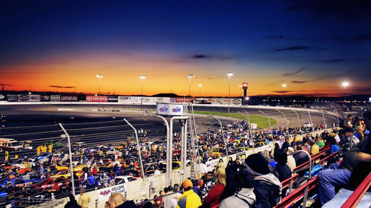 Saturday Night NASCAR Race, Meals and Go-Kart Races For Two