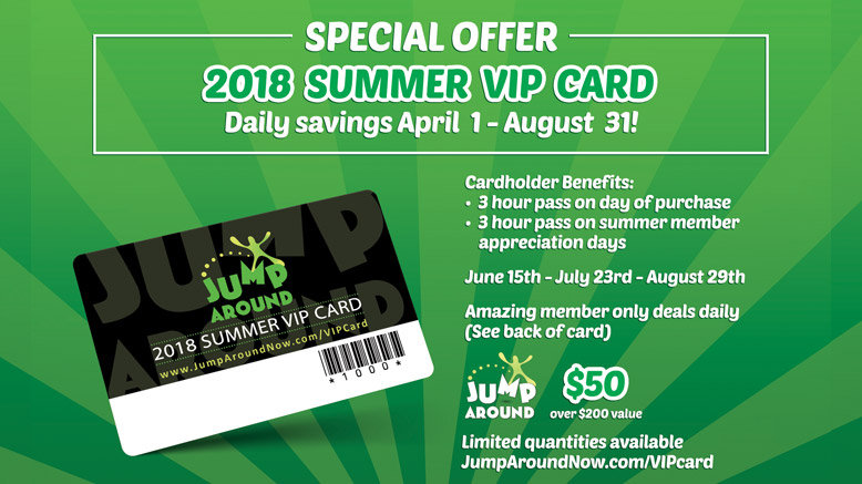 Jump around now trampoline chula vista 77 off rush49 2018 summer vip card for 1 reheart Images