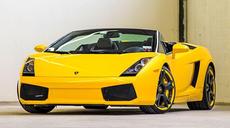 Four-Lap Ride-Along in a Lamborghini Gallardo or Ferrari F430