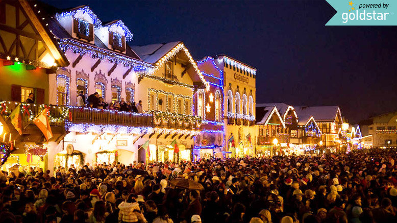 GA for One & Leavenworth Christmas Lighting Festival Discount | Rush49