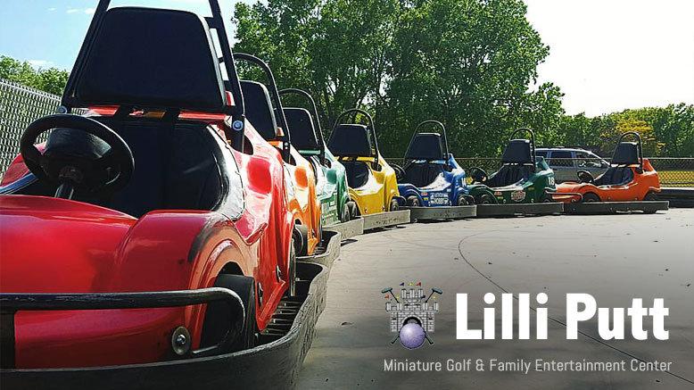 5 Go-Kart, Bumper Boat or Kiddie Kart Rides