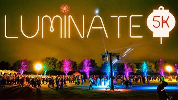 One Entry to The Luminate 5k