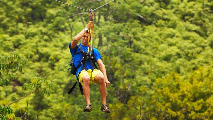 Daytime Zipline-Adventure Package for One