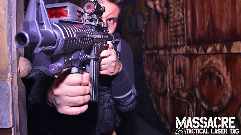 90 Minutes of Laser Tag