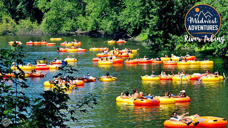 GA for 1 to Midwest Adventures River Tubing