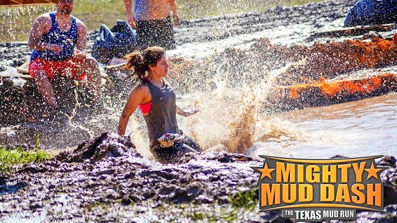 1 Sunday Mighty Mud Dash Entry