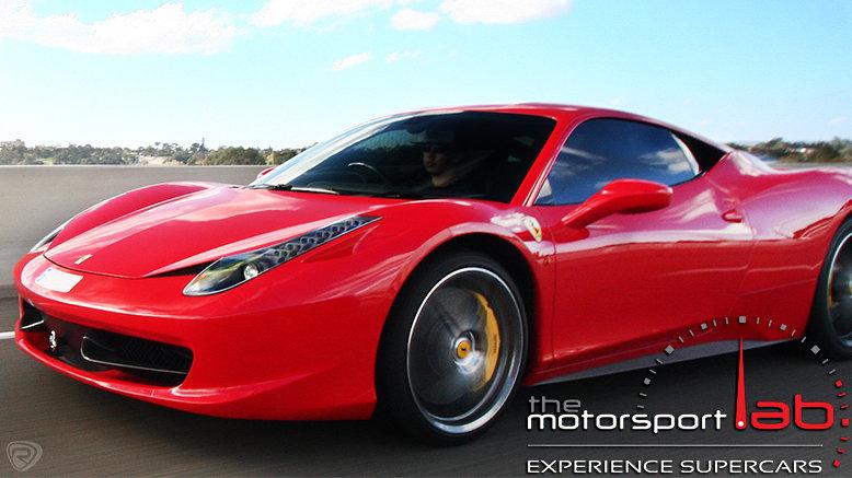 3-Laps in a Lamborghini Gallardo or Ferrari F430