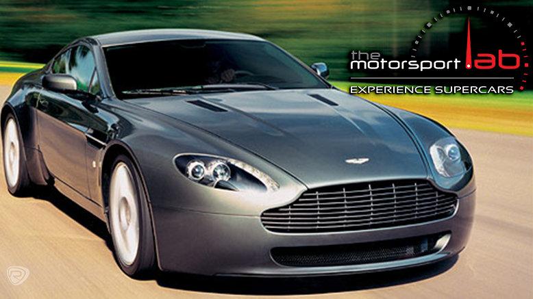 3-Laps in Lamborghini Gallardo, Ferrari F430 or Aston Martin Vantage