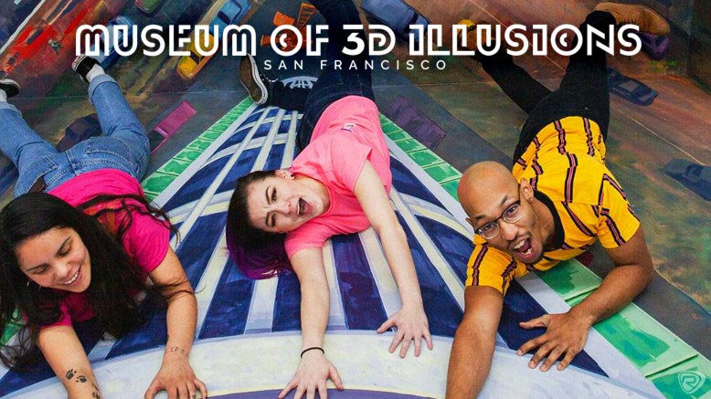 2 GA Tickets to Museum of 3D Illusions (Adult or Child)