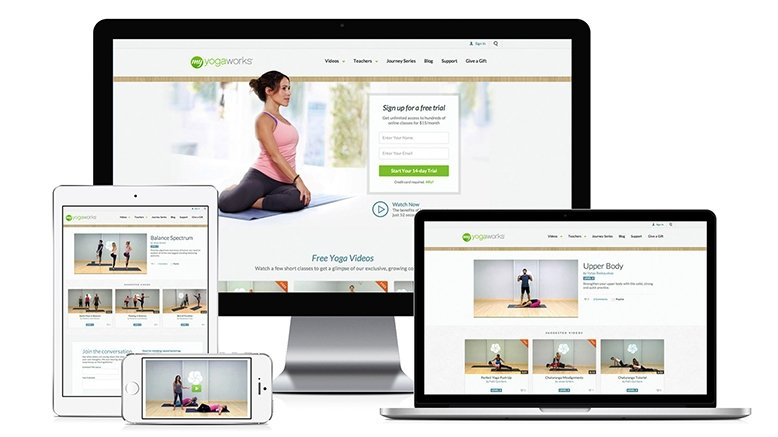 6-Month Online Yoga Subscription