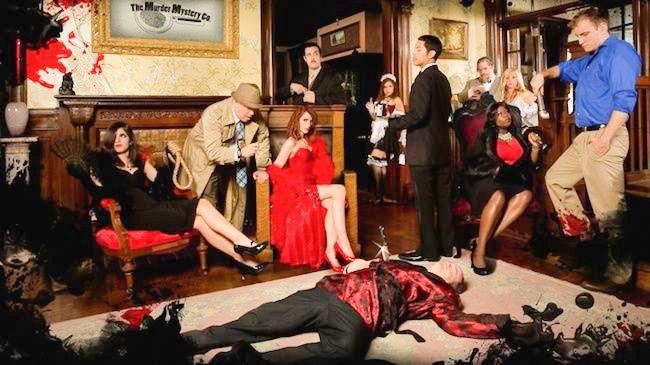 Live Murder Mystery Dinner Show