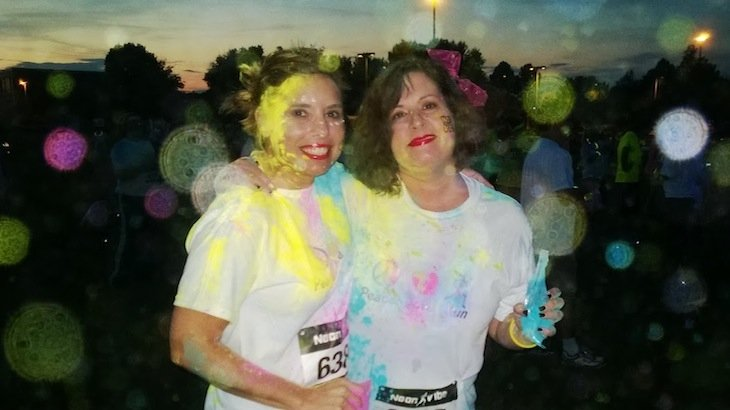 Night color run 5k miami discount tickets deal rush49 for Rush49 paint nite