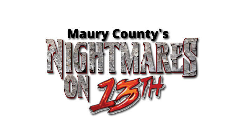 1 General Admission to Nightmares on 13th