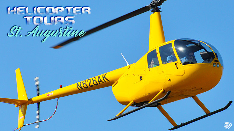 St. Augustine Helicopter Tour For Up To 3