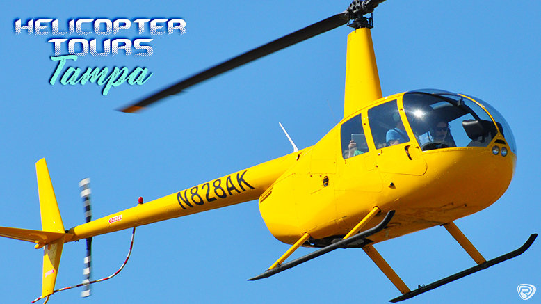 Tampa Helicopter Tour For Up To 3