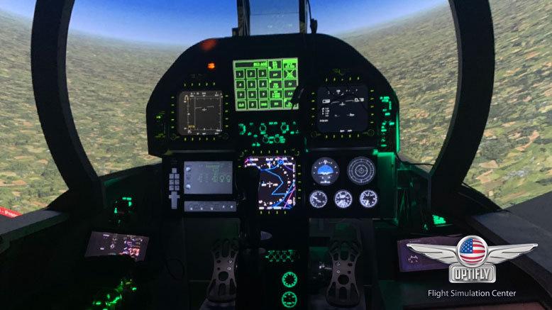 F-18 Super Hornet Flight Simulation for 1