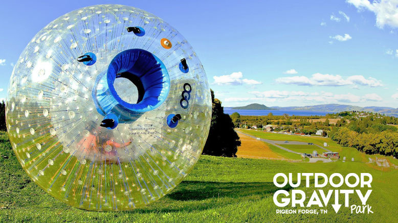 1 Zorbing Ride with 1 Video at Outdoor Gravity Park