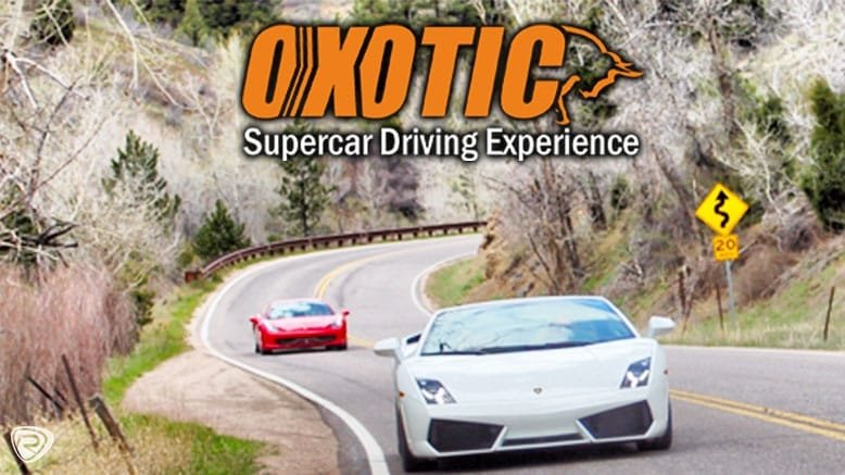 15-mile Drive or Ride Along in a Lambo Gallardo Spyder or Porsche 911 Turbo (Valid Mon-Thurs)