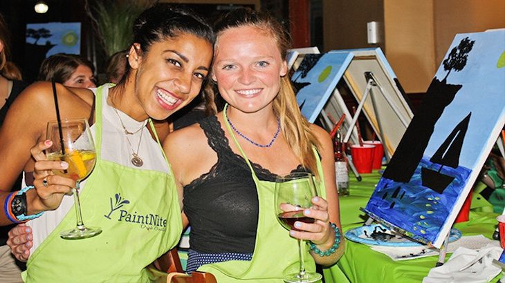 Paint Nite - Montreal
