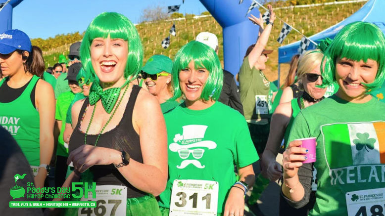 5K Entry to  St. Paddy's Day 5K Hilltop Challenge